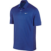 Nike Men's Tiger Woods Engineered Stripe Golf Polo