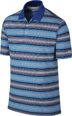 Nike Men's Key Stretch UV Stripe Golf Polo