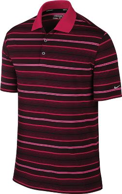 Nike Men's Key Stretch UV Stripe Golf Polo