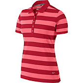 Nike Women's Bold Stripe Golf Polo