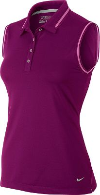 Nike Key Sleeveless Women's Golf Polo