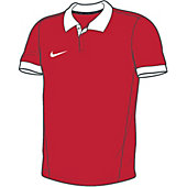 Nike Squad14 Boy's Custom Modified Soccer Polo
