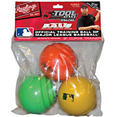 Rawlings Official MLB Curve Training Baseball (3 Pack)