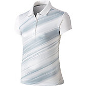 Nike Girls' Seasonal Stripe Golf Polo