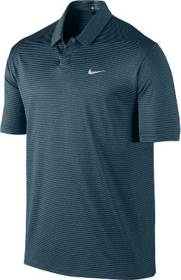 Nike Men's Tiger Woods Modern Stripe Golf Polo