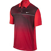 Nike Men's Tiger Woods Seasonal Bold Stripe Golf Polo