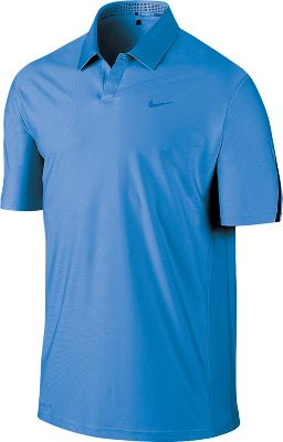 Nike Men's Tiger Woods Engineered Body Map Golf Polo