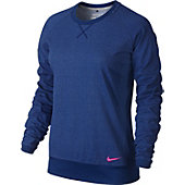 Nike Women's Sport Crew Golf Cover-Up Sweater