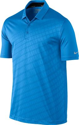 Nike Men's Innovation Two-Color Jacquard Golf Polo