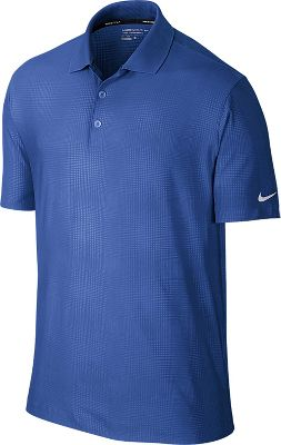 Nike Men's Key Embossed Golf Polo