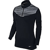Nike Women's Long-Sleeve Zip Golf Top