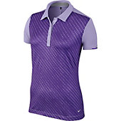 Nike Women's Speed Dot Stripe Golf Polo