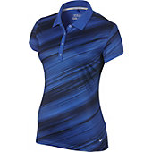 Nike Women's All-Over Speed Stripe Golf Polo