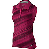Nike Women's Speed Stripe Sleeveless Golf Polo