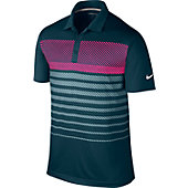 Nike Men's Sport Stripe Golf Polo