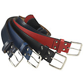 Teamwork Athletic Adult Leather Baseball Belt
