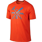 Nike Men's Baseball Legend Bat Rake Lockup Shirt
