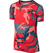 Nike Boy's Core Compression GFX Short Sleeve Shirt