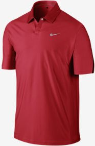 Nike Men's Tiger Woods Engineered Body Mapped Golf Polo
