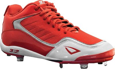 3N2 Mens Viper Mid Metal Baseball Cleats