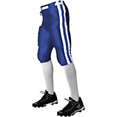 Alleson Athletic Youth Striped Football Pant w/ Snaps & Belt
