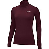 Nike Women's Team Pro Hyperwarm Mock Performance Shirt