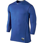Nike Men's Baseball Vapor Players HyperCool 3.0 3/4-Sleeve S