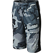 NIKE WOODLAND CAMO FLY SHORT-YTH