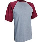 Russell Athletic Men's Short Sleeve Cotton Raglan T-Shirt