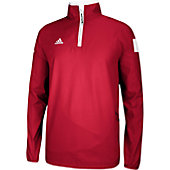ADIDAS CLIMAPROOF SHOCKWAVE WOVEN 1/4 ZIP