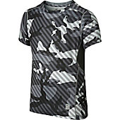 Nike Youth Pro Combat Hypercool Woodland Graphic Shirt