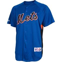 Majestic Men's MLB Full Button Batting Practice Jersey