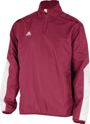Adidas Mens Climalite Team 1/4-Zip Jacket