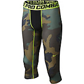 Nike Boy's Pro Combat NPC Core 3/4 Tights