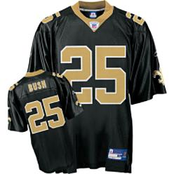 Reebok Men's NFL Saints/Bush Replica Jersey