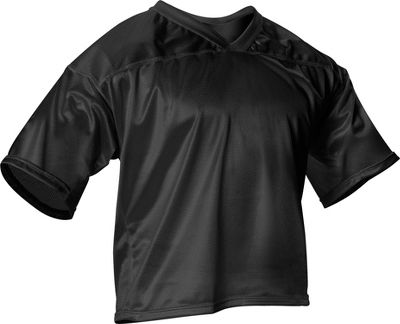 Alleson Athletic Youth Micro Mesh Flag Football Jersey 700JYBLKXS