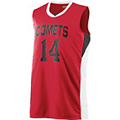 Augusta Men's Wicking Duo Knit Basketball Jersey