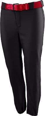 Russell Athletic Women's Low Rise Zipper Fly Pant 72447XKBLKXL