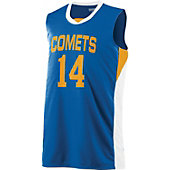 Augusta Youth Wicking Duo Knit Basketball Jersey