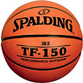 "Spalding TF-150 Youth Rubber Basketball (27.5"")"