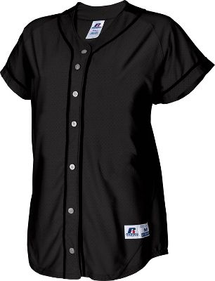 Russell Women's Faux Placket Softball Jersey