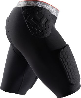 McDavid Adult Hexpad Thudd Football Girdle 737BLKS
