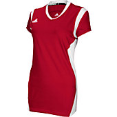 Adidas Women's CLIMALITE Quickset Cap Sleeve Volleyball Jers