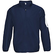 Badger Men's Sideline Long Sleeve 1/4 Zip Pullover