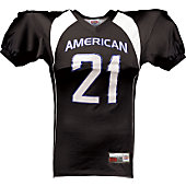 Football America Youth Side Insert Back Yoke Football Jersey
