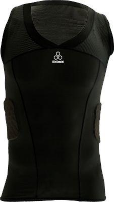 McDavid Men's HexPad V-Hex Body Shirt