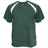 Badger Men's Competitor Placket Baseball Jersey