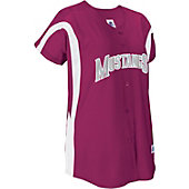 Russell Athletic Women's Faux Placket Softball Jersey