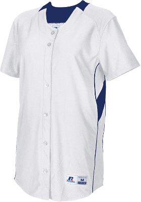 Russell Athletic Women's Faux Placket Pullover Jersey