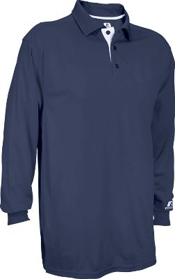 Russell Men's Team Essential Long Sleeve Gameday Polo